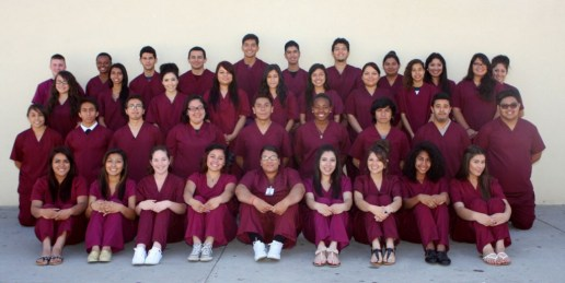 Canyon Springs Health Careers Academy  Sophomore students.