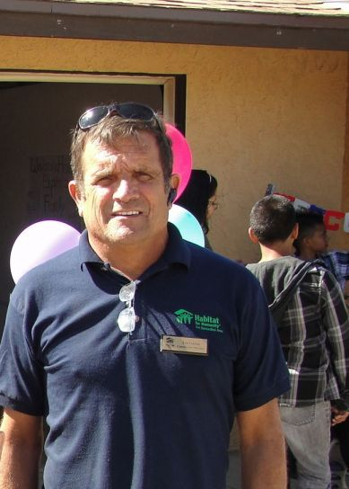 Tim Garcia Habitat for Humanity construction manager