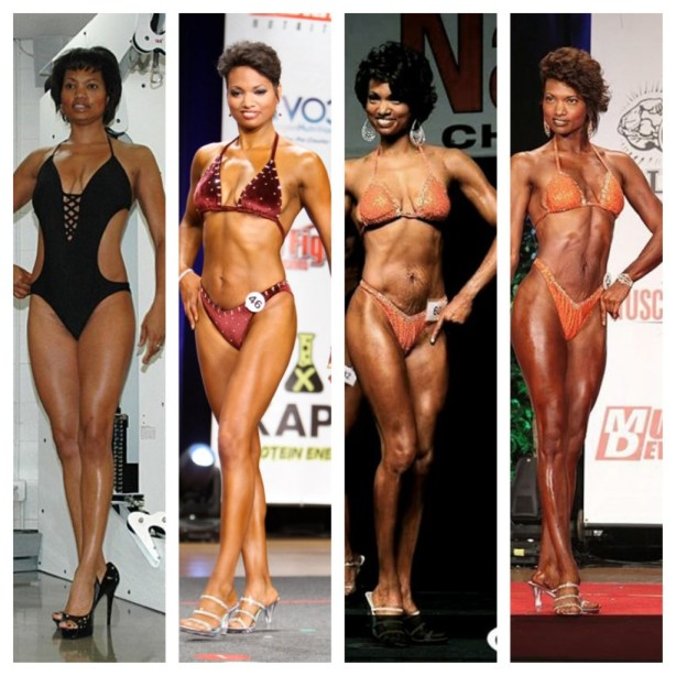 Left to right Malaika 2009, 2011, 2012 and 2013