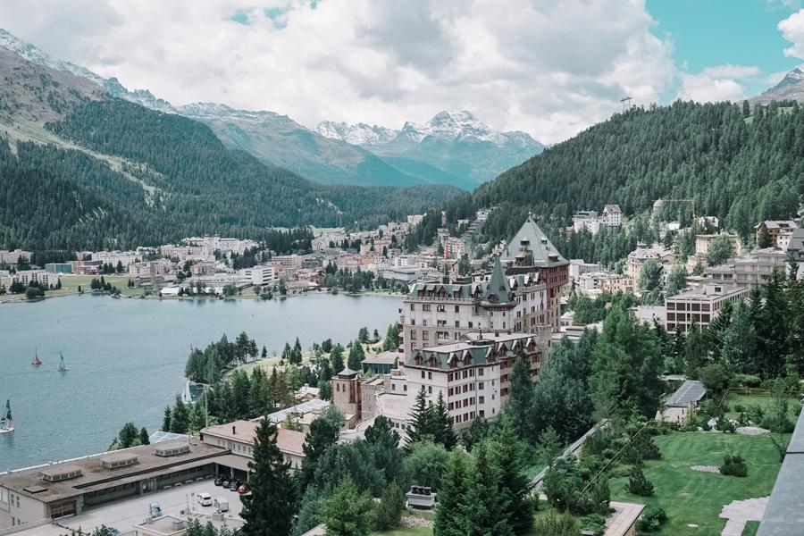 Kulm Hotel St Moritz Switzerland