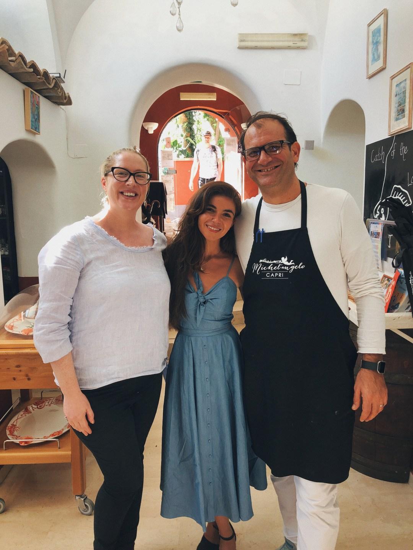 Restaurants We Love: Ristorante Michel'angelo In Capri, Italy