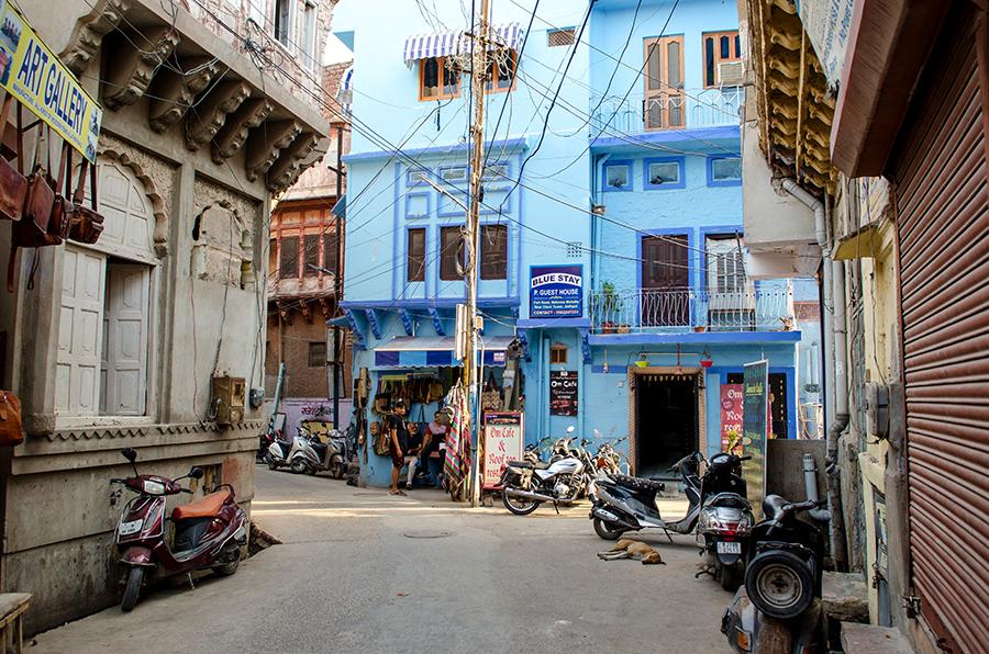 Getting Lost in Jodhpur: India's Blue City