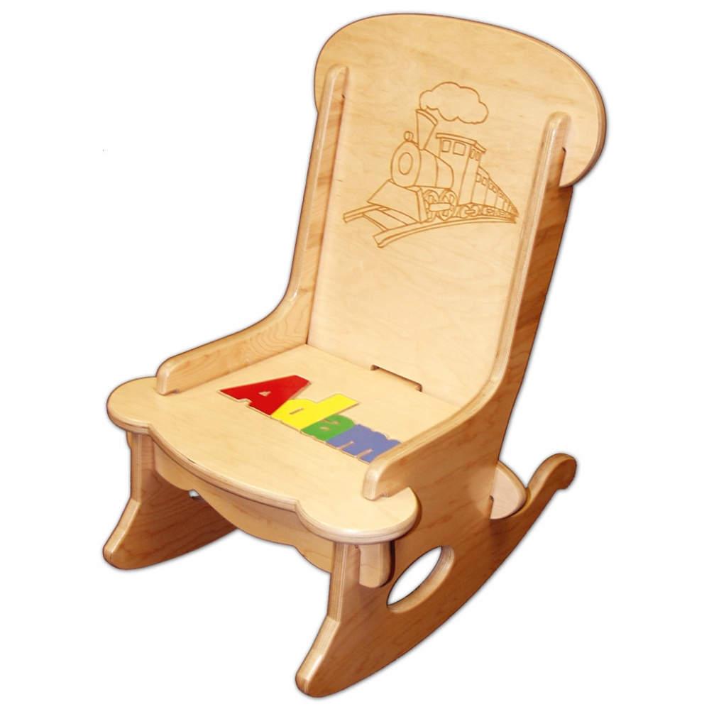 Childs Puzzle Rocking Chair  Damhorst Toys  Puzzles Inc