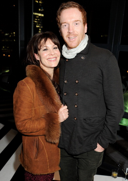 Damian and Helen at the InStyle Best of British Talent Party