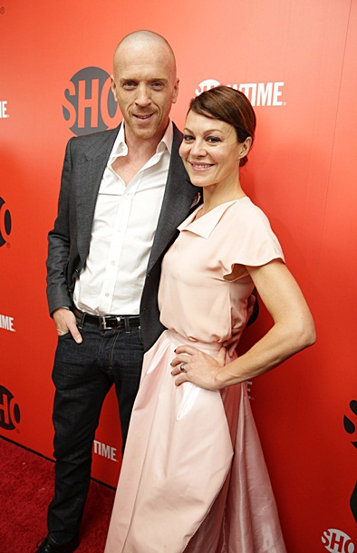 Damian Lewis and Helen McCrory at at Showtime's 2013 'Emmy Eve Siorre' Sept 21
