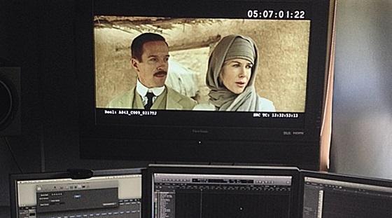 Damian Lewis in 'Queen of the Desert'