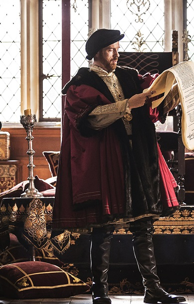 Damian Lewis as Henry VIII in 'Wolf Hall'