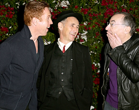 Damian Lewis, Mark Rylance, and director Peter Kosminsky