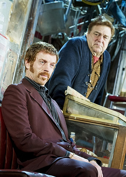 Damian Lewis and John Goodman in American Buffalo