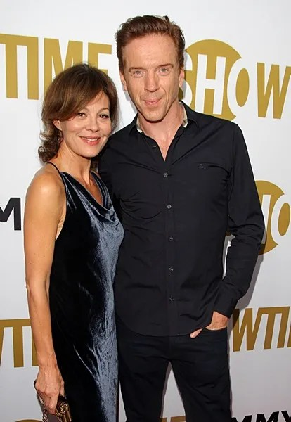 Damian Lewis and Helen McCrory at the Showtime's Pre-Emmy Party