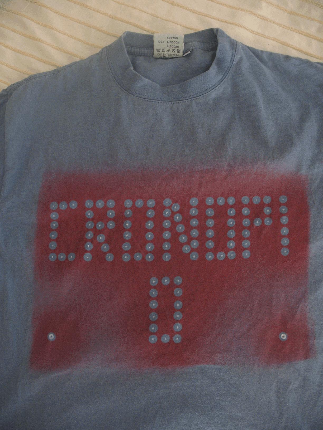 camiseta cronopio