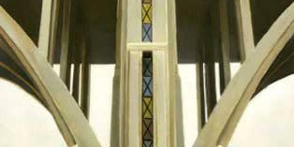 Viaducto. 2005. Óleo sobre tabla. 60 x 43 cm