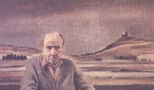 Retrato de Caneja. 20 x 33 cm