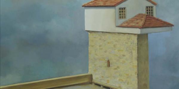 Casa de Poeta. Óleo/Tela. 41×61 cm