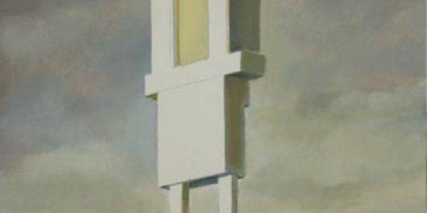 Faro Jovaile. Óleo/madera. 36 x 25 cm