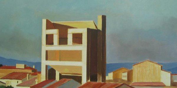 Casa Silveira. Óleo/madera. 41×30 cm