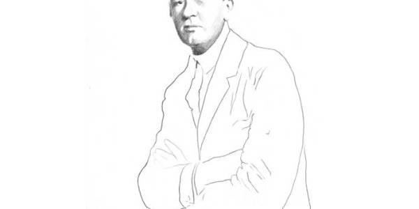 Paul Morand 2002 – 2003 Lápiz sobre papel 30 x 20 cm