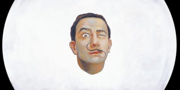 El ojo de Dalí. 2007. Óleo/madera. 50 x 50 cm