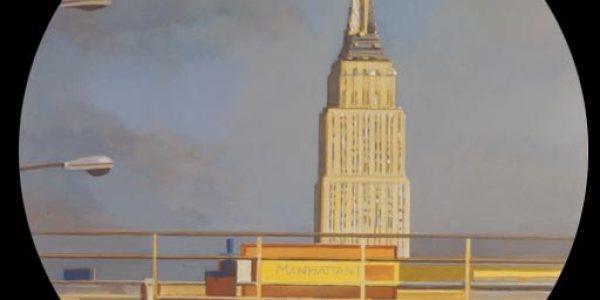 Hoboken. 2007. Óleo/madera. 75 x 75 cm