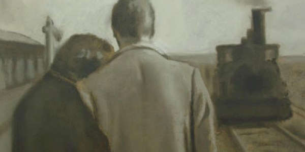 Calle Mayor. 2007. Óleo sobre lienzo. 30×30 cm.