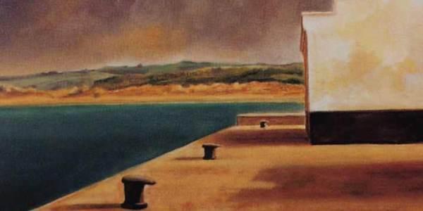Desde el puerto. 55 x 38 cm