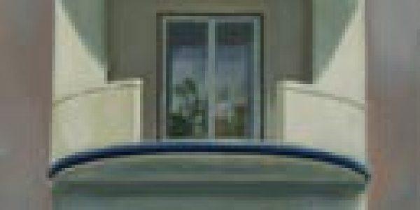 Casa Lugrís. Óleo/tela. 120 x 30 cm