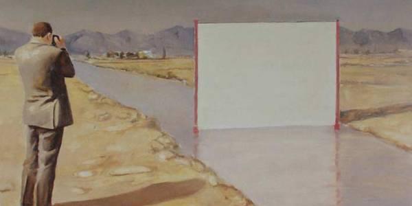 Un paisaje blanco 30 x 51cm