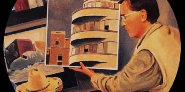 Retrato de Juan Riancho. 48 cm diám.