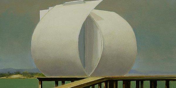La Casa Perla. Óleo/madera. 27 x 32 cm