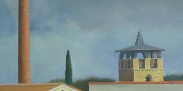 Zamora. Óleo/tela. 41×54 cm
