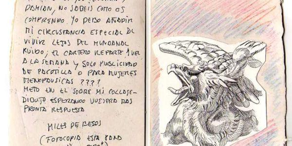 8ª POSTAL RECIBIDA MERCEDES AMÉZAGA