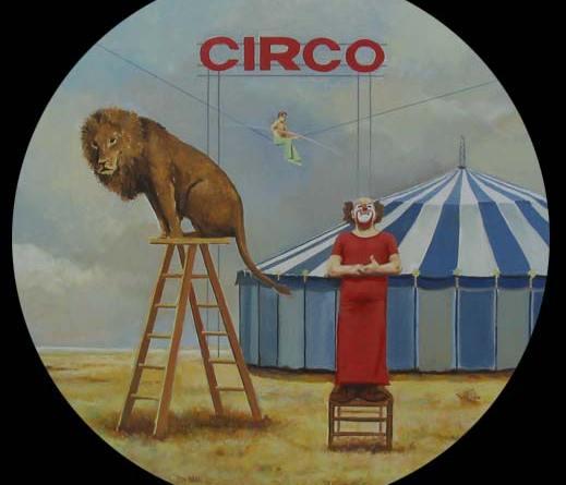 El Circo exposición Damián Flores