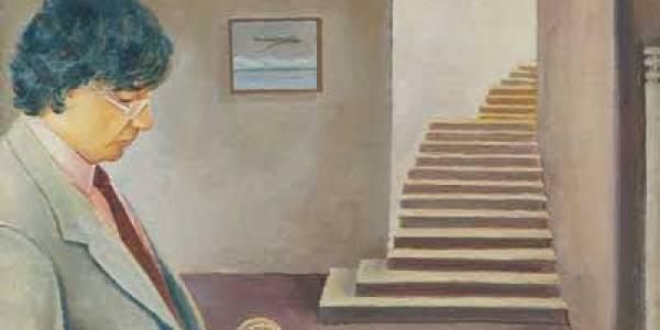 Raúl Ezigábal 1998 Óleo sobre madera. 26 x 34 cm