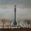Colón Damian Flores 2015 óleo sobre tela 40 x 40 cm