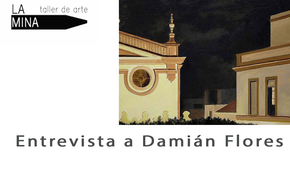 Entrevista a Damián Flores en Taller de Arte