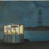 Kiosko Damian Flores 2015 óleo sobre tela 30 x33 cm