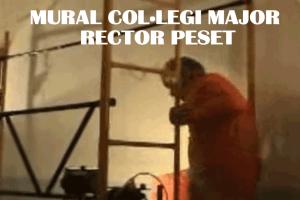 Mural Col·legi Major Rector Peset