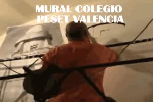 Mural Colegio Peset Valencia