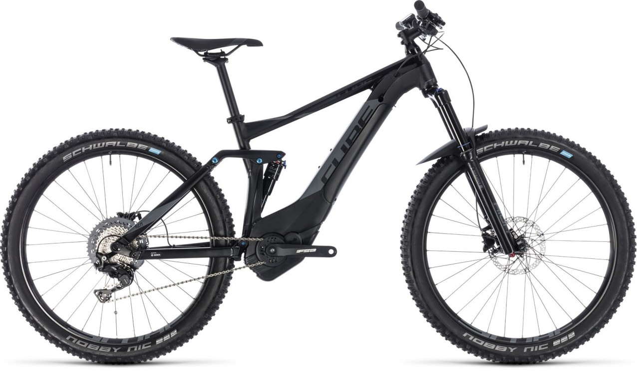 Cube Stereo Hybrid 140 Pro 500 black-grey 2018 Electric Bike
