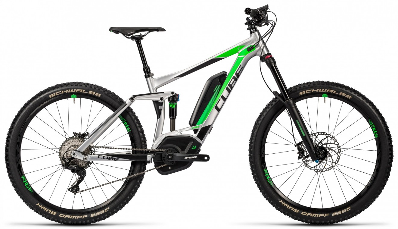 Cube Stereo Hybrid 160 HPA Race 500 27.5 2016