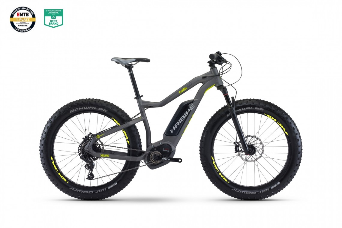 Haibike XDURO FatSix 6.0 500 2017 Electric Bike