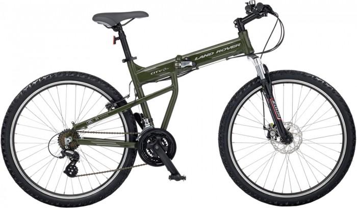 Land Rover City Elite-Unisex 2011 Folding Bike Folding Bicycle