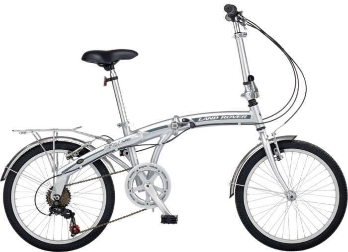 Land Rover Folding City Lite-Silver 2011 Folding Bike