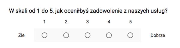 Kiepskie pytanie w ankiecie