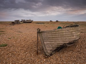 boat Dungeness, Kent. Landscape Photography