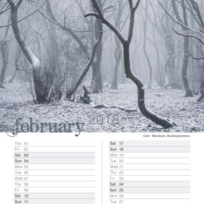 Damian Ward Photography Calendar 2018 February