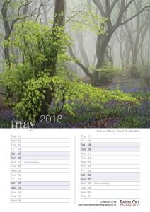 Damian Ward Photography Calendar 2018 May