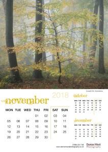 Damian Ward Photography Calendar 2018 November