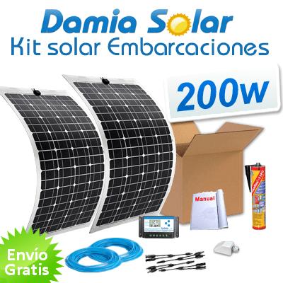 Kit de placa solar para uso diario todo el año.