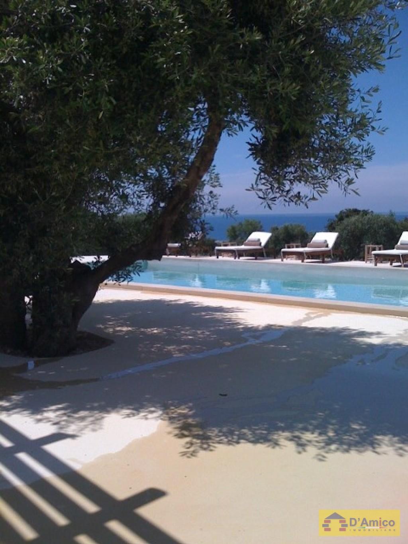 Villa  Depandance FRANCESI in stile mediterraneo  Castrignano del Capo